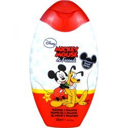 Sprchový gel a pěna Mickey Mouse & Friends Broskev 300 ml