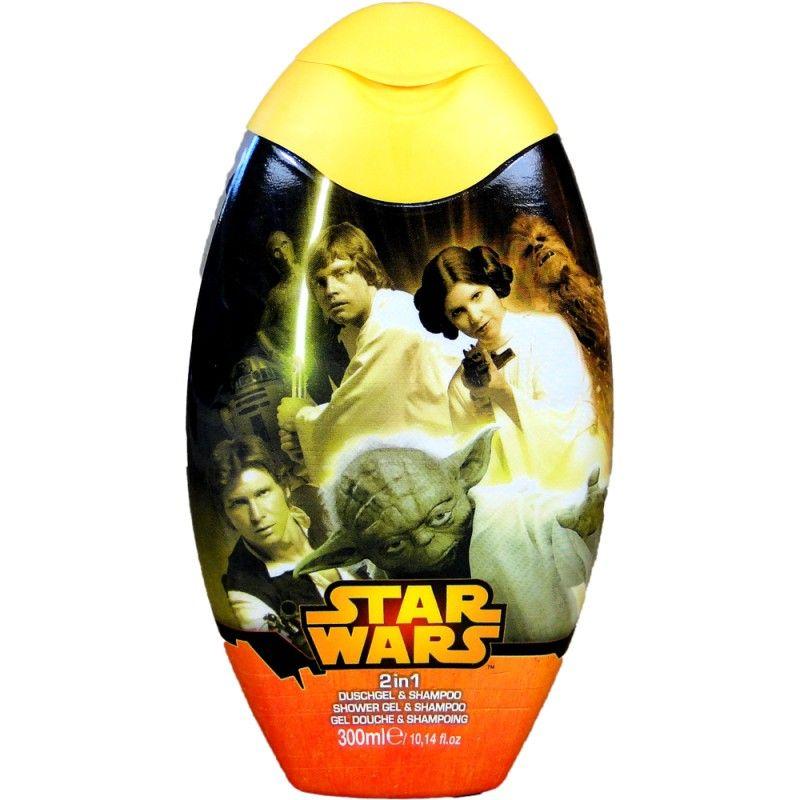 Sprchový gel a pěna Star Wars Broskev 300 ml