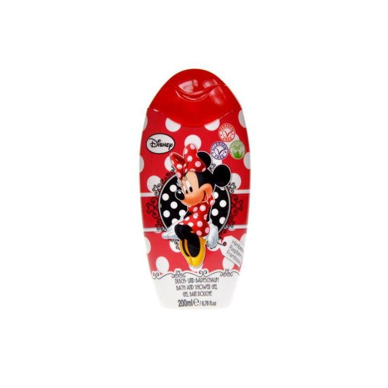 Sprchový gel a pěna Minnie Mouse Malina 200 ml