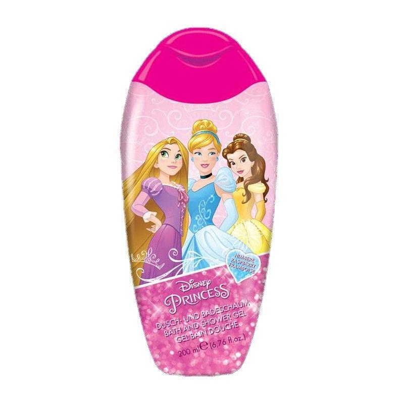 Sprchový gel a pěna Princess / Princezny Malina 200 ml