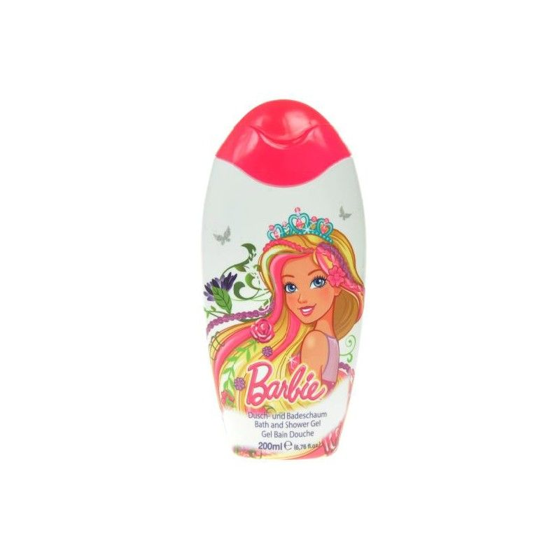 Sprchový gel a pěna Barbie Malina 200 ml