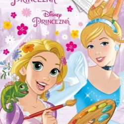Omalovánka Disney Princess / Princezny A4