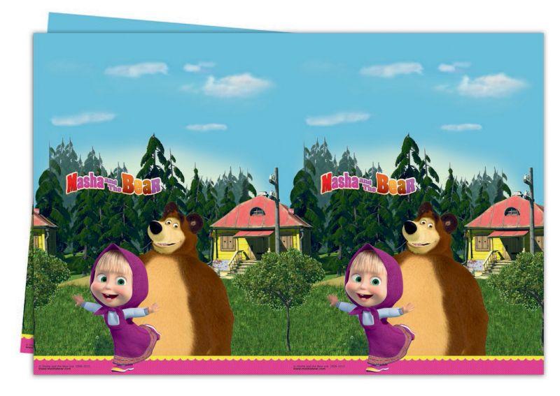 Ubrus Máša a Medvěd 120 x 180 cm
