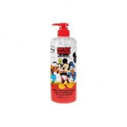 Sprchový gel a pěna Mickey Mouse & Friends Malina 750 ml