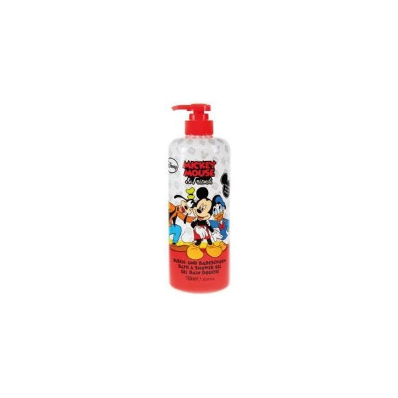 Sprchový gel a pěna Mickey Mouse & Friends Malina 750 ml