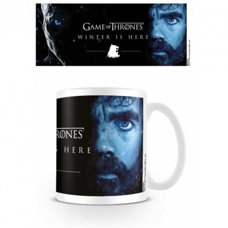 Keramický hrnek Hra o Trůny / Game Of Thrones / Winter Is Here - Tyrion