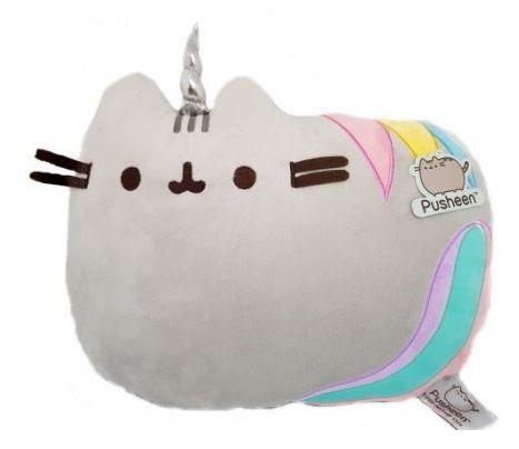 Plyšový polštář kočička Pusheen Pushicorn 35 x 28 x 8 cm