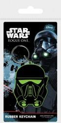 Gumový přívěsek Star Wars Rogue One Death Trooper 6 cm