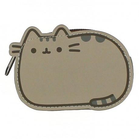 Dětská kožená peněženka na zip s kočičkou Pusheen 11 x 7 x 3 cm / vecizfilmu