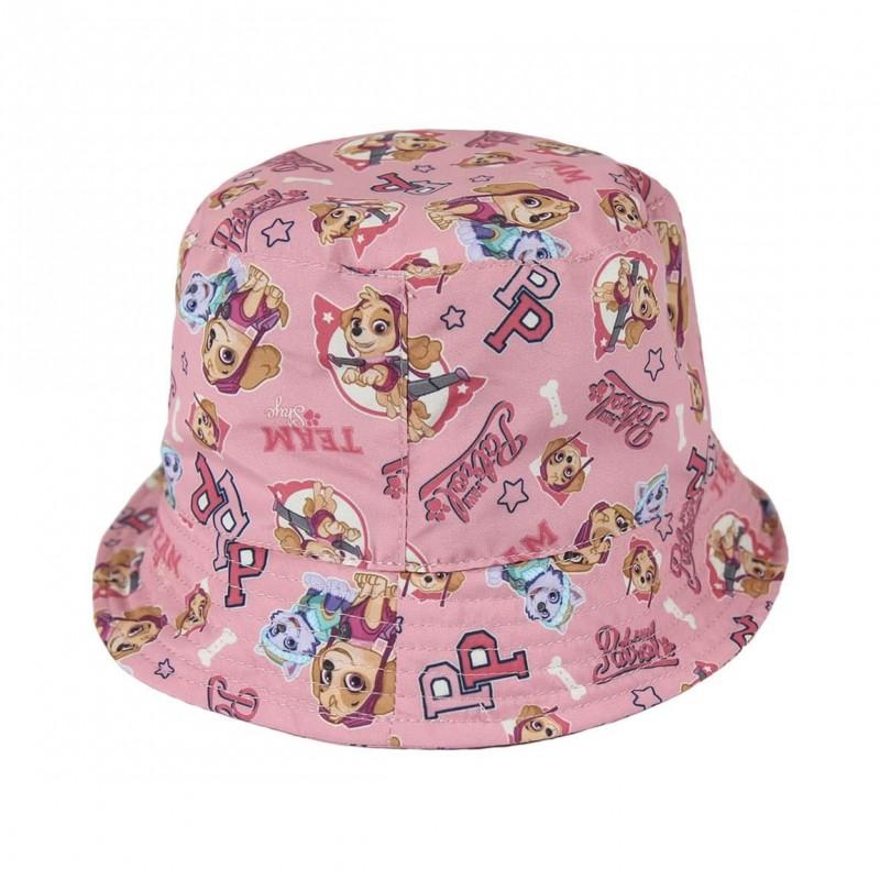 Dívčí klobouček růžový Skye Paw Patrol / Tlapková Patrola 50 a 52 cm