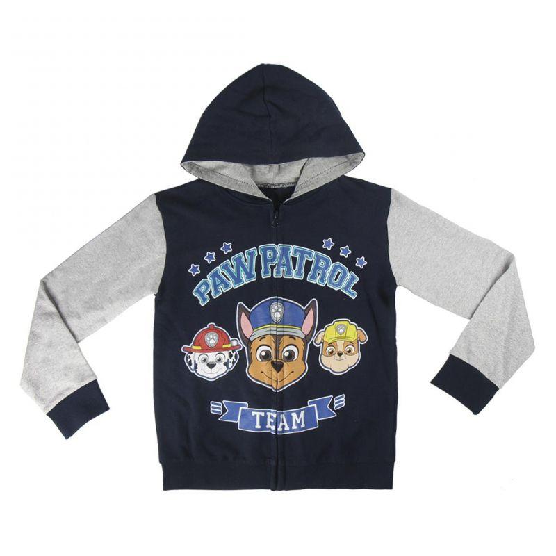 Chlapecká mikina s kapucí Paw Patrol / Tlapková Patrola 3 - 6 let
