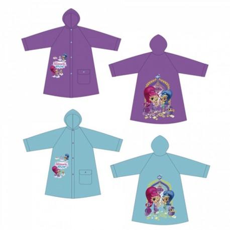 Dívčí pláštěnka modrá / fialová Shimmer and Shine 2 - 6 let / vecizfilmu