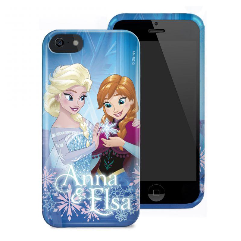 Kryt na mobil iPh 6+/6s+ Frozen Anna a Elsa
