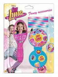 Sada doplňků Soy Luna hřeben / zrcátko / gumičky