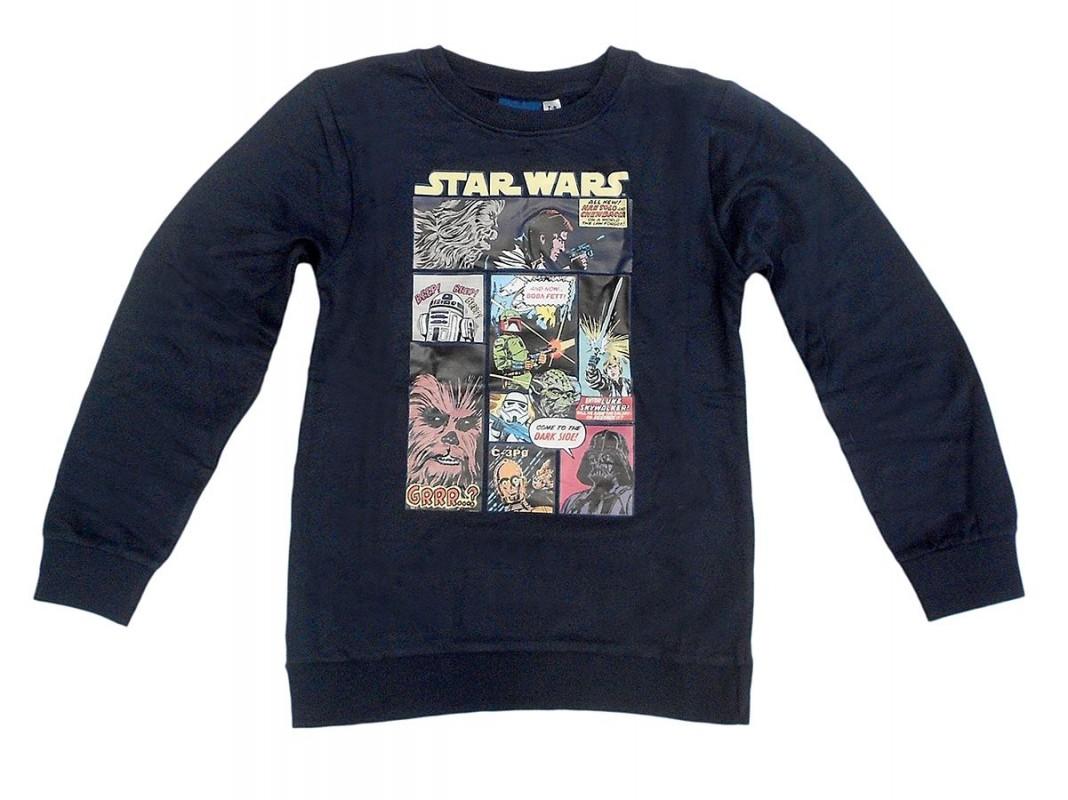 6de7e04db4d Chlapecká mikina Star Wars 9 - 10 let černá   vecizfilmu