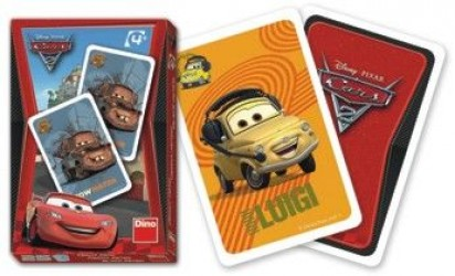 Karty Černý Petr - Auta / Cars