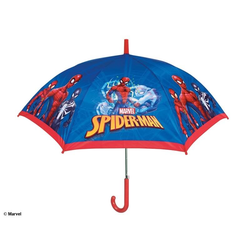 Automatický deštník Spiderman / 48 cm
