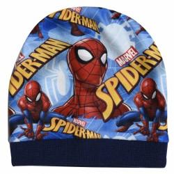 Chlapecká čepice podzimní / zimní Spiderman modrá / červená / vecizfilmu