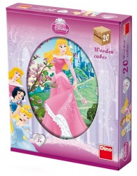 Kostky  Disney Princezny, 20 Kostek