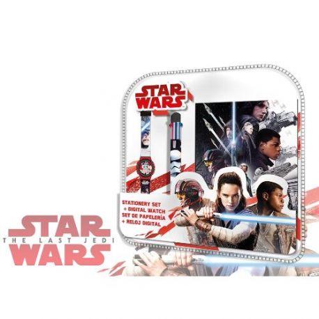 Sada Star Wars hodinky / propiska / diář