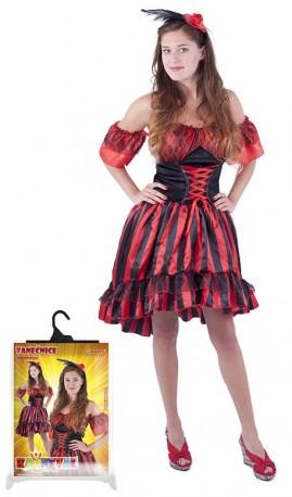 Karnevalový kostým pro dospělé tanečnice Sally velikost M