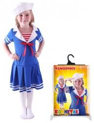 Dětský karnevalový kostým námořnice velikost S