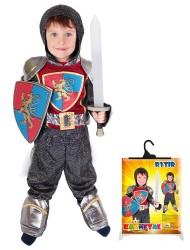 Dětský karnevalový kostým rytíř se štítem velikost M