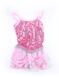Dětský karnevalový kostým princezná ružová velikost M