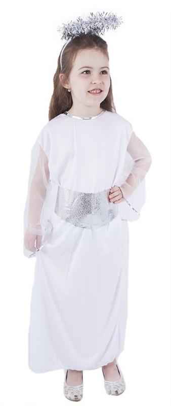 Dětský karnevalový kostým anděl velikost S