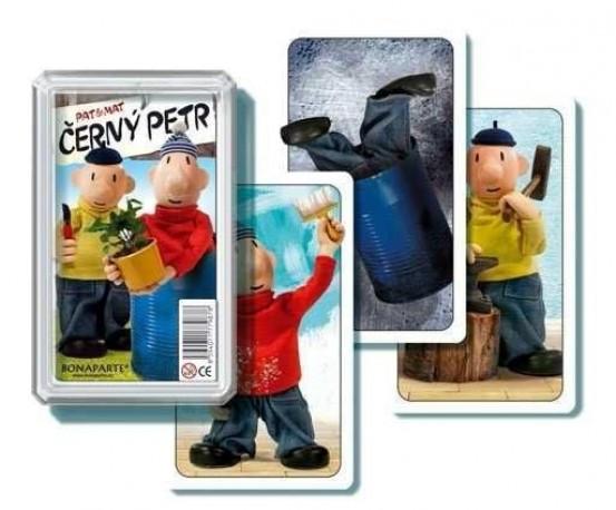 karty Černý Petr - Pat a Mat