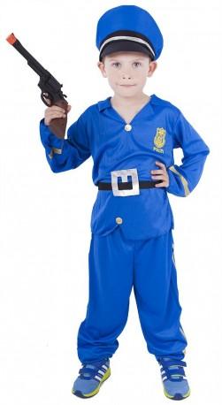Dětský karnevalový kostým policista velikost M