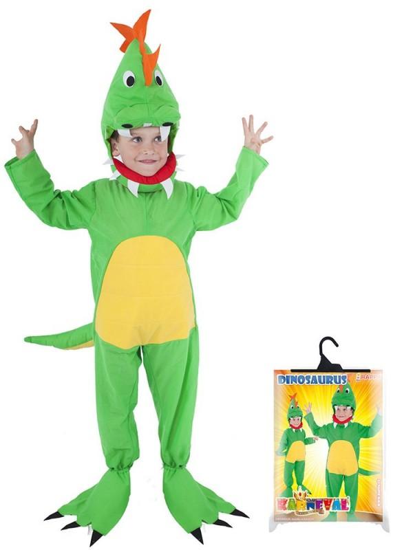 Dětský karnevalový kostým dinosaurus velikost S