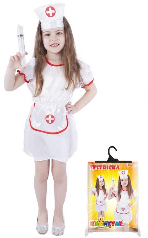 Dětský karnevalový kostým sestřička velikost M