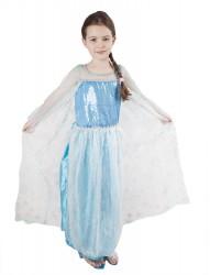 Dětský karnevalový kostým princezna Zimní království velikost L