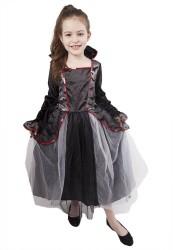 Dětský karnevalový kostým čarodějnice / Halloween velikost L
