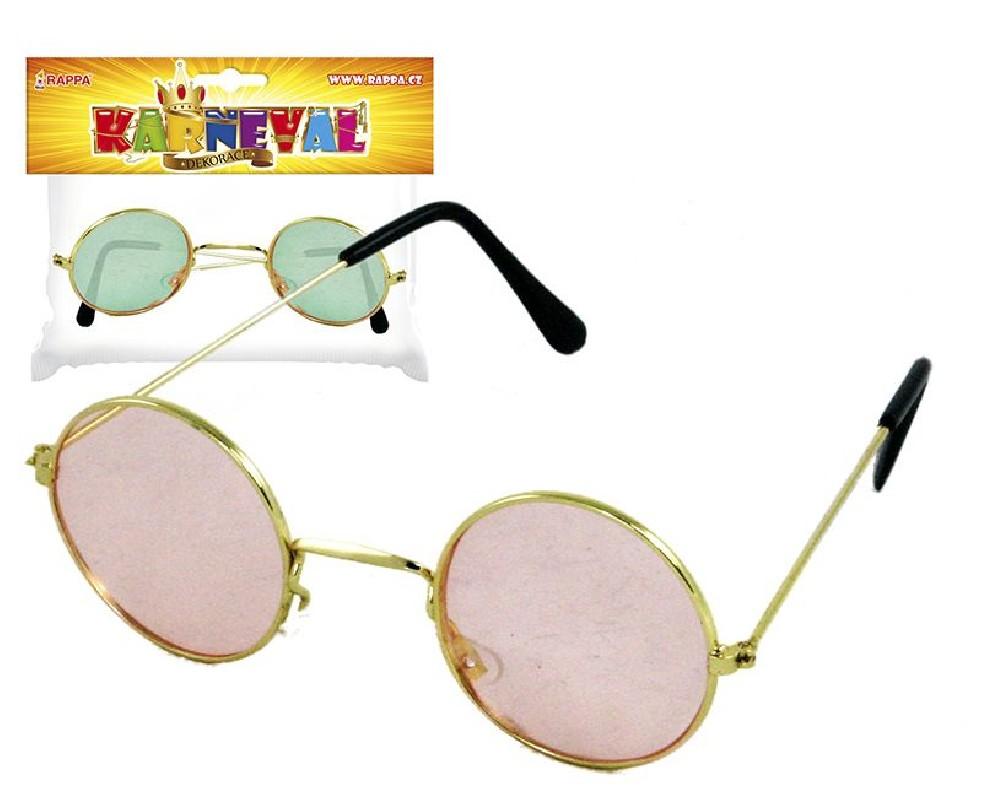 """Karnevalové brýle """"LENONKY"""""""