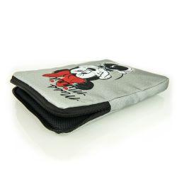 """Obal na tablet 7"""" Minnie Mouse šedý 22 x 15 x 1,5 cm"""