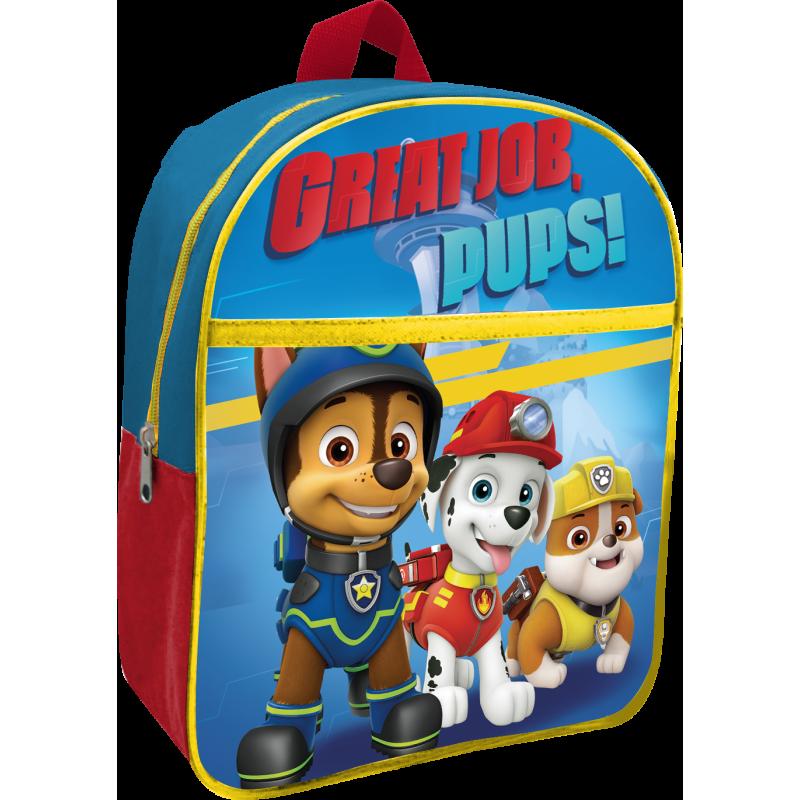 Junior batoh pro děti Paw Patrol / Tlapková patrola 31 cm