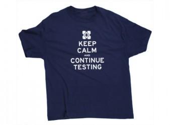 Tričko s krátkým rukávem s motivem PC hry Portal 2 velikost XL