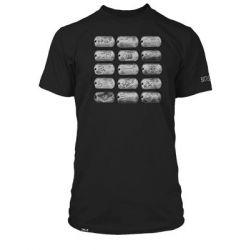 Pánské černé tričko s krátkým rukávem s motivem PC hry Battlefield 4 velikost XL