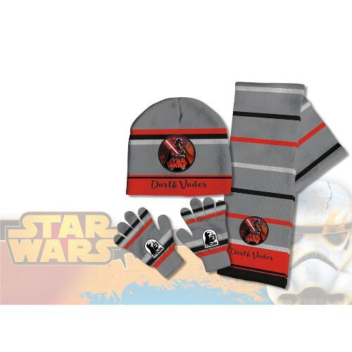 e02f729477c Sada podzimního   zimního oblečení čepice rukavice šála Star Wars    vecizfilmu