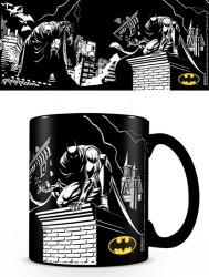 Keramický hrnek měnící se DC COMICS / Batman 315 ml