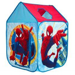Látkový domeček do dětského pokoje Spiderman 102 x 72 x 72 cm