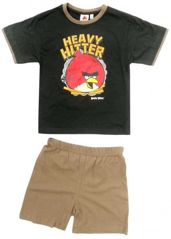 Chlapecké pyžamo / domácí úbor Angry Birds vel. 6 - 14 let