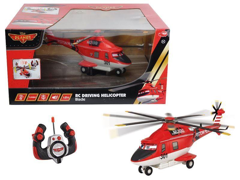 vrtulník RC PLANES-Střážce Břitva, jezdí
