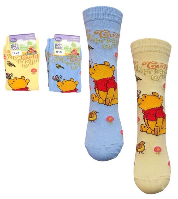 Dětské ponožky Medvídek Pú / Winnie The Pooh 23/26 27/30 31/34 cm / vecizfilmu