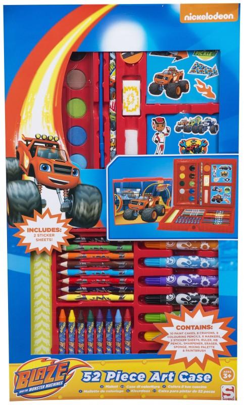 Velká výtvarná sada Blaze and The Monster Machines / Plamínek a čtyřkoláci