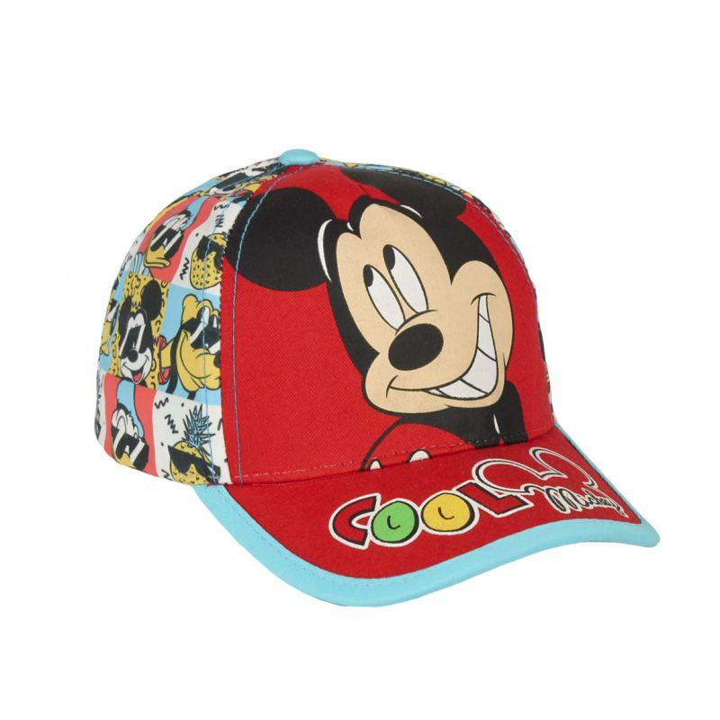 Dětská kšiltovka plná barev Mickey Mouse 48 / 50 cm