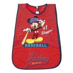 Dětská zástěrka Mickey Mouse Baseball červená
