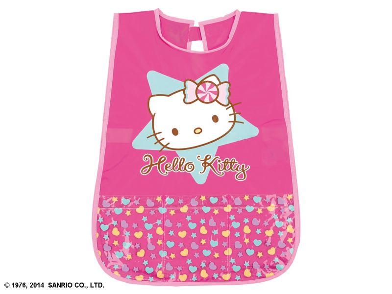 Dívčí zástěrka růžová Hello Kitty